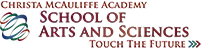 Christa McAuliffe Academy School of Arts and Sciences Logo