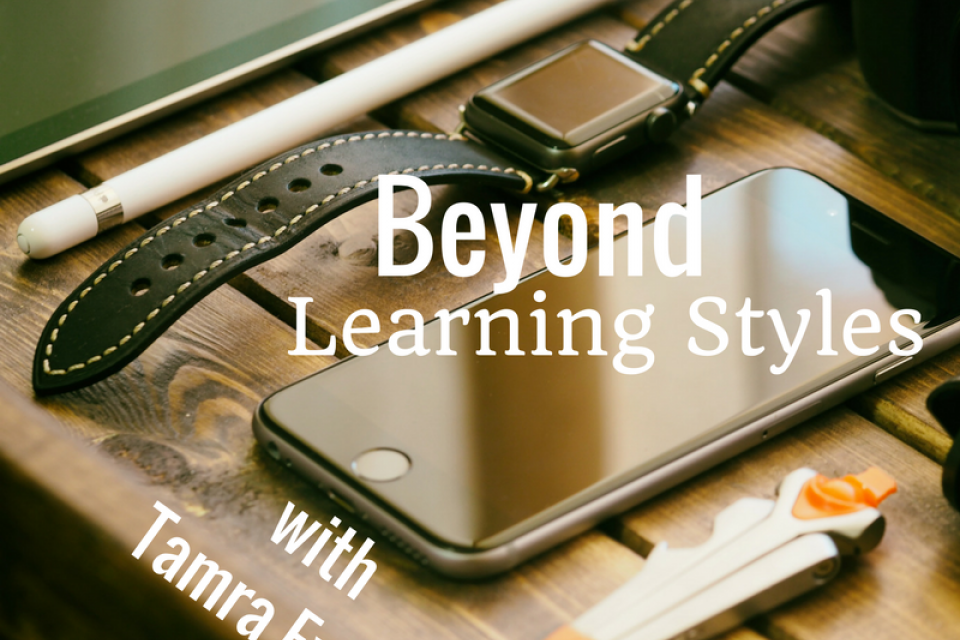 <div class='homepage-block-latest-news'>Beyond Learning Styles with Tamra Excell </div>