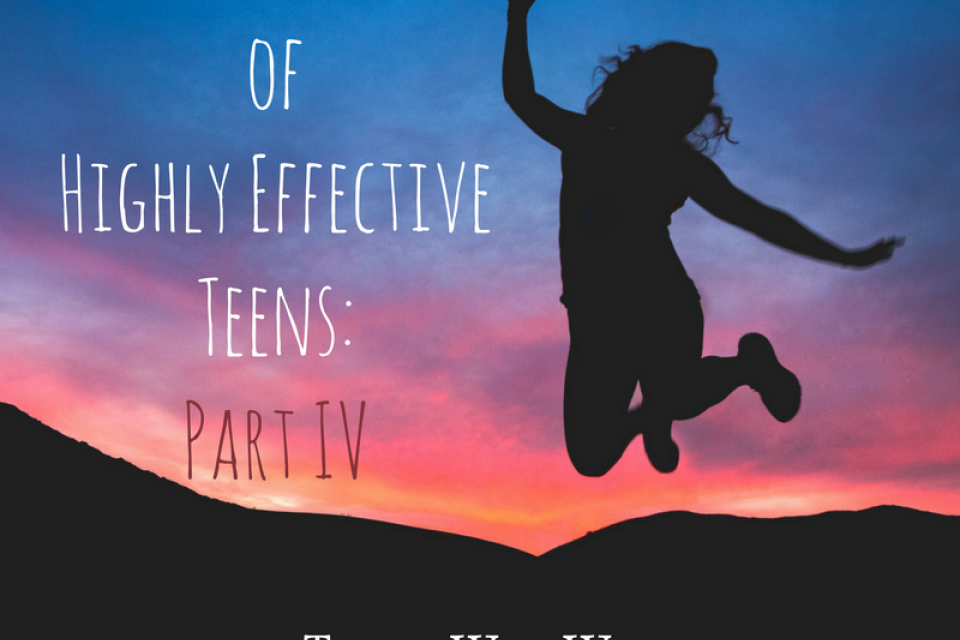 <div class='homepage-block-latest-news'>The Seven Habits of Highly Effective Teens: Part IV</div>